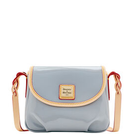 Flap Pleated Crossbody