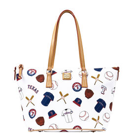 Rangers Zip Top Shopper