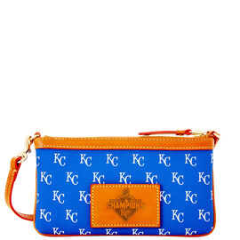 Royals 2015 World Series Large Slim Wristlet
