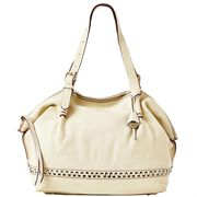 Braided Diamond Shopper
