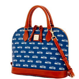 Seahawks Zip Zip Satchel