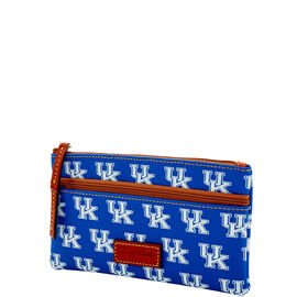 Kentucky Double Zip Flat Pouch
