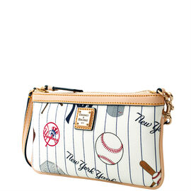 Yankees Large Slim Wristlet