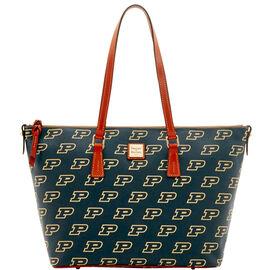 Purdue Zip Top Shopper