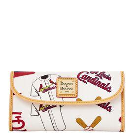 Cardinals Continental Clutch