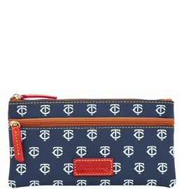 Twins Double Zip Flat Pouch