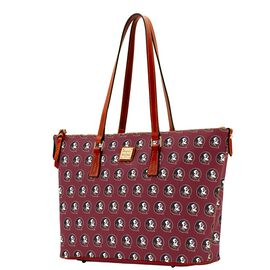 Florida State Zip Top Shopper
