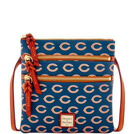 Bears Triple Zip Crossbody