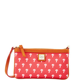 Phillies Large Slim Wristlet