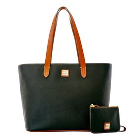 Zip Top Shopper with Wristlet
