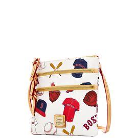 Red Sox Triple Zip Crossbody