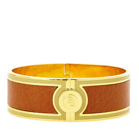 Florentine Leather Bangle