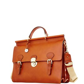 Double Gusset Buckle Briefcase