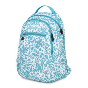 High Sierra Curve Backpack in the color Tropic Leopard/Tropic Teal.