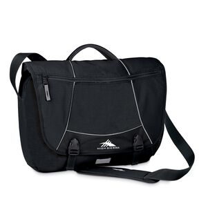 High Sierra Tank Pack Messenger Bag in the color Black.