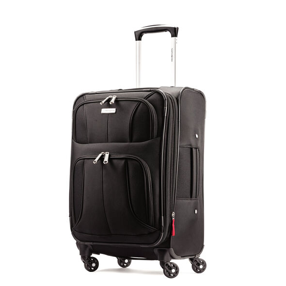 "Samsonite Aspire XLite 20"" Spinner in the color Black."
