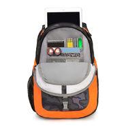 High Sierra Opie Backpack in the color Kamo/Black/Electric Orange.