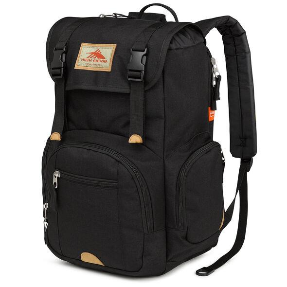 High Sierra Emmett Backpack in the color Black.