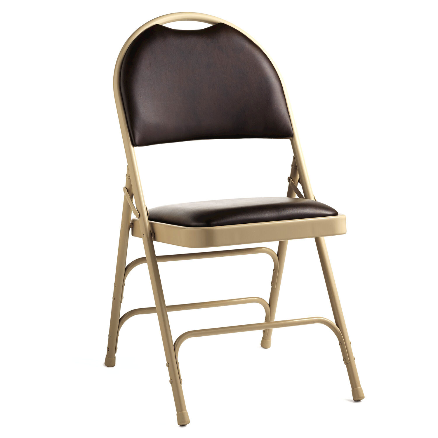 New Leather Folding Chair Luxury