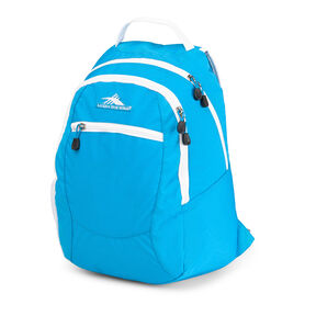 High Sierra Curve Backpack in the color Pool/White.