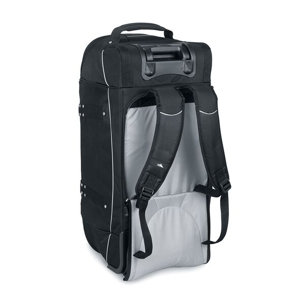 """High Sierra AT2 30"""" Wheeled Duffel With Straps in the color Black."""
