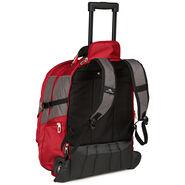 High Sierra XBT Wheeled Daypack in the color Mercury Crimson.