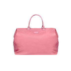 Lipault Lady Plume Weekend Bag L in the color Antique Pink.
