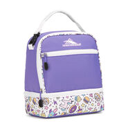 High Sierra Lunch Packs Stacked Compartment in the color Lavender/Sweet Cakes/White.