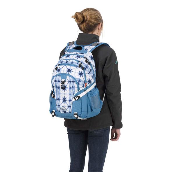 High Sierra Loop Backpack in the color Indio Dye/Mineral/White.