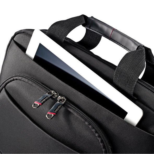 """Samsonite Xenon 2 Ultra Slim Portfolio - 13"""" in the color Black."""