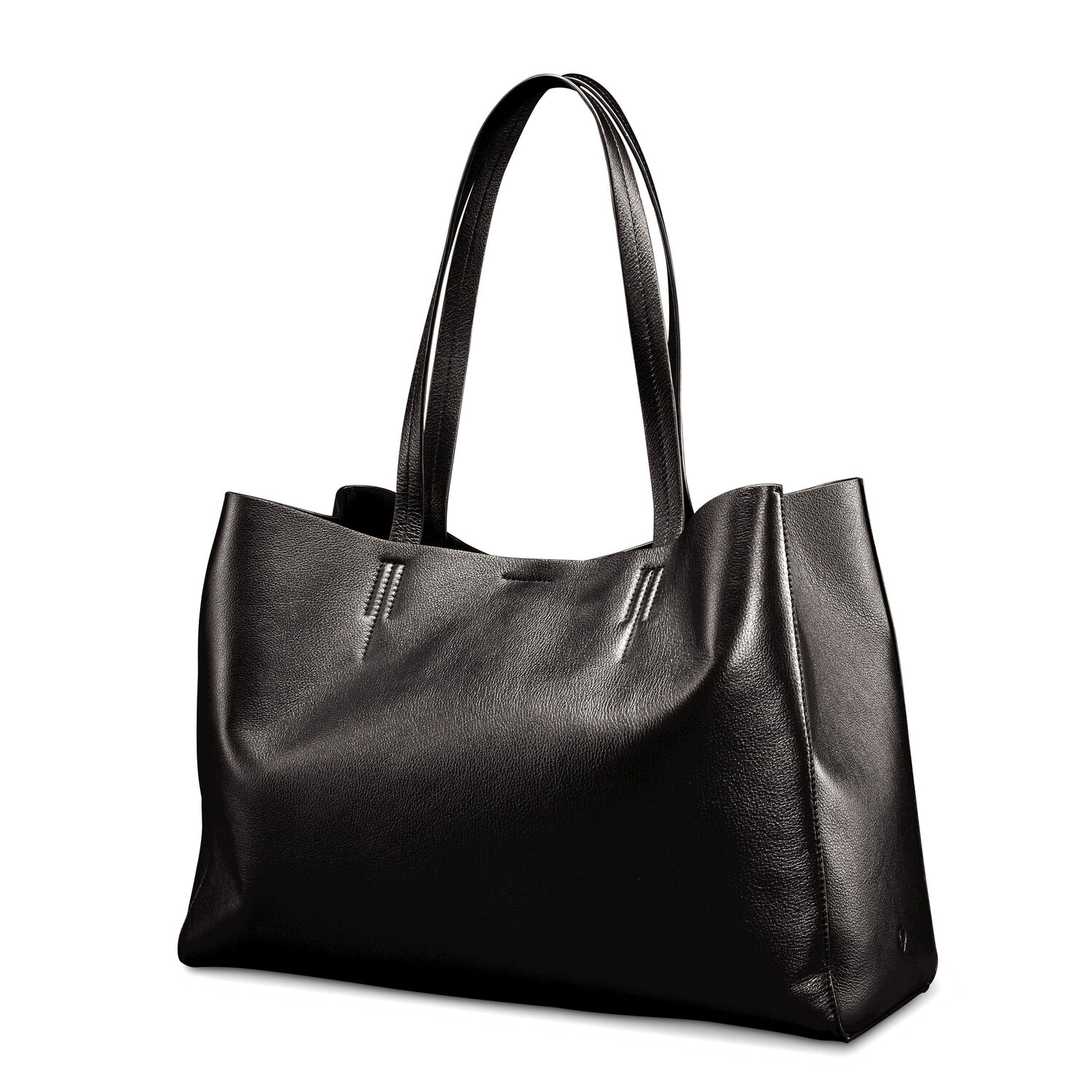business bags backpacks and briefcases samsonite samsonite business leather tote in the color black
