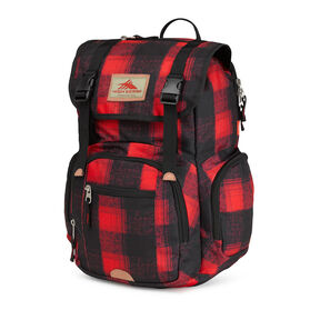 High Sierra Emmett Backpack in the color Buffalo Plaid.