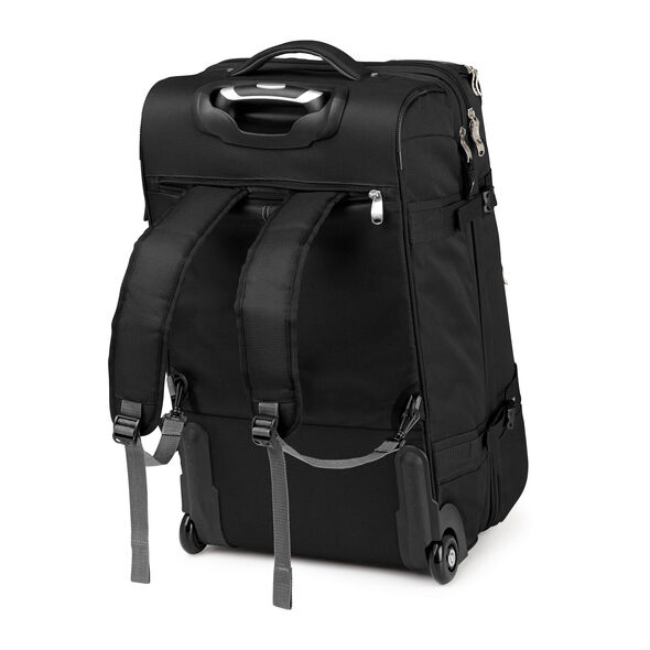 "High Sierra Adventure Access 26"" Wheeled Duffel in the color Black."