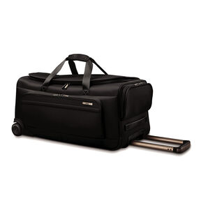 "Hartmann Metropolitan 27"" Rolling Duffel in the color Deep Black."