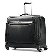 Samsonite Silhouette Sphere Spinner Garment Bag in the color Full Black.