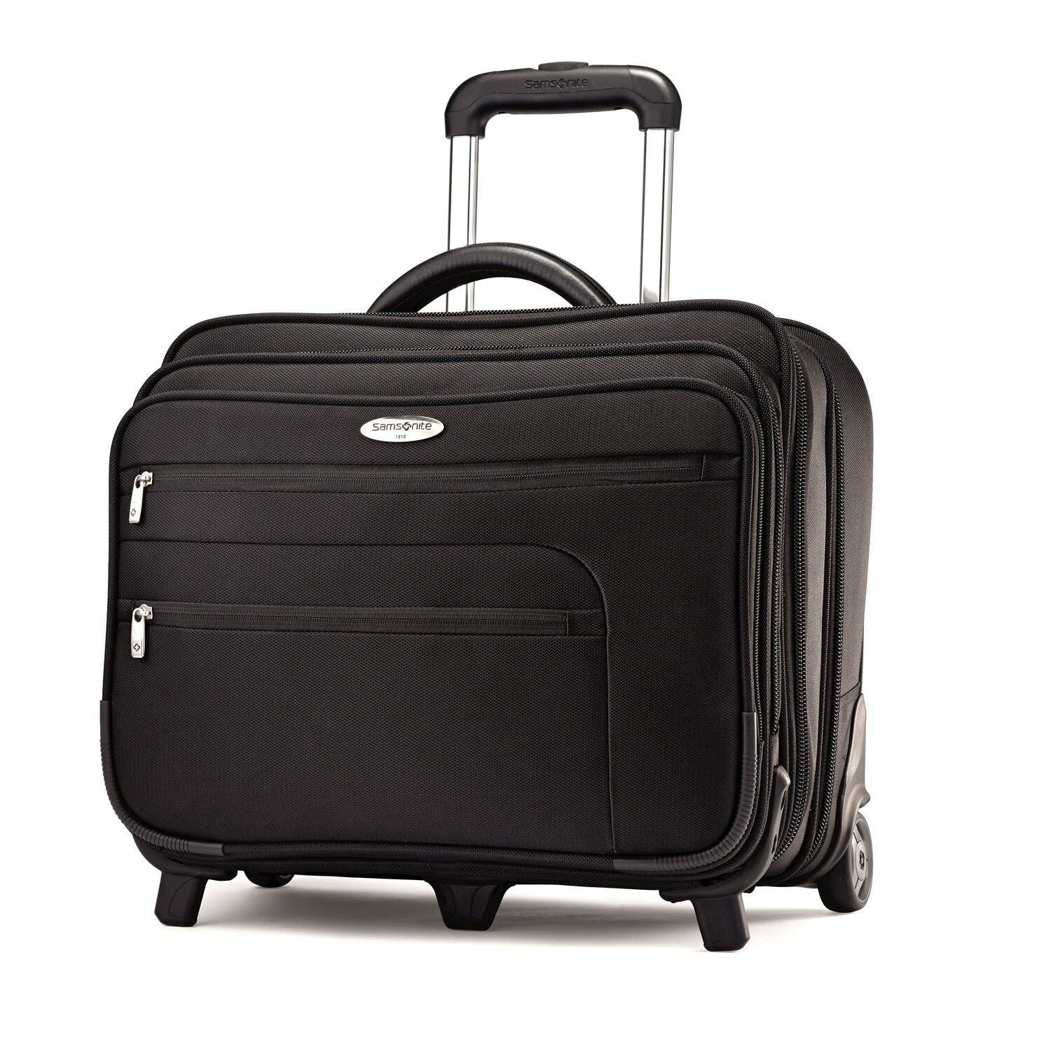 Samsonite business wheeled business case overnighter in the color black