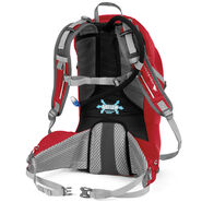 High Sierra Moray 22L Hydration Pack in the color Bright Red/Silver.