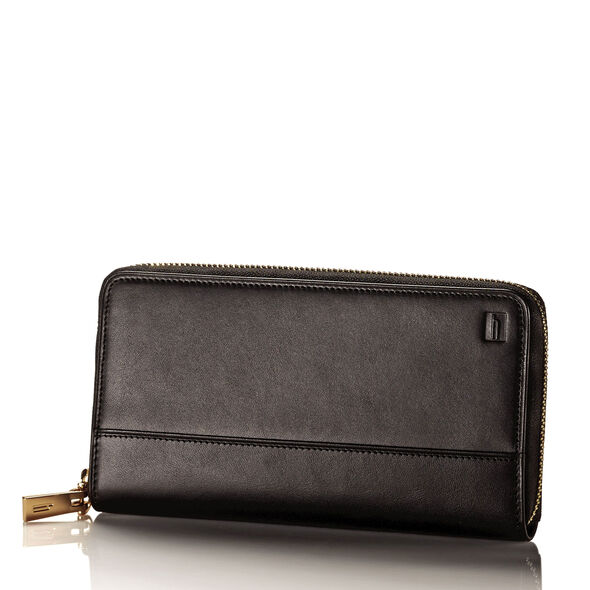 Hartmann Belting Zip Around Wallet in the color Heritage Black.