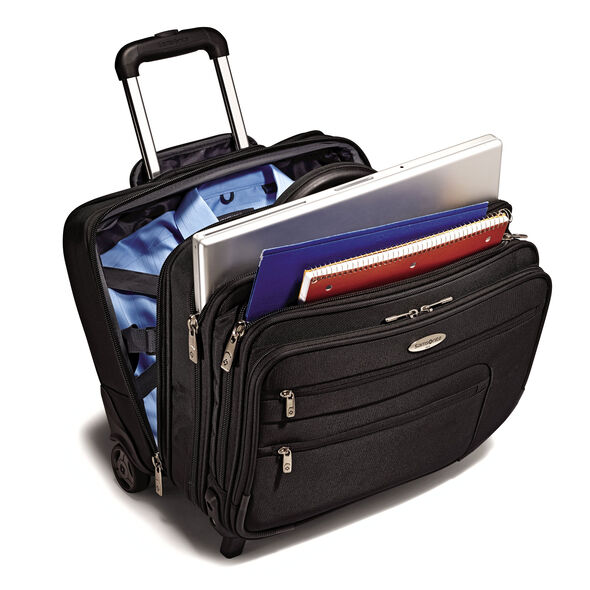 Samsonite Business Wheeled Business Case/Overnighter in the color Black.