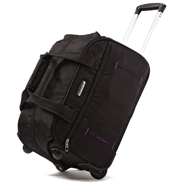 Samsonite Savor Wheeled Tote in the color Licorice.