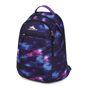 High Sierra Curve Backpack in the color Cosmos/Midnight Blue/ Deep Purple.