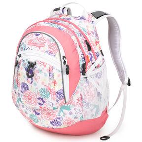 High Sierra Fat Boy Backpack in the color Wonderland/Pink Lemonade.