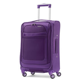 "American Tourister iLite Max 19"" Spinner in the color Purple."