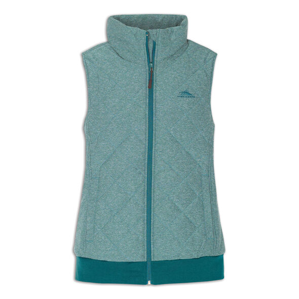 High Sierra Women's Lynn Insulated Vest in the color Lagoon.