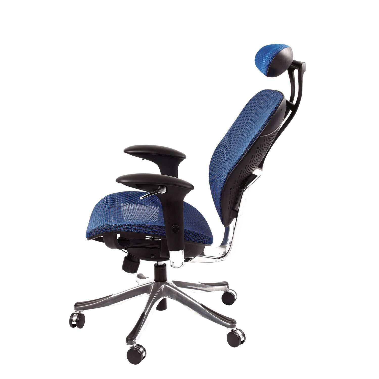 Samsonite Zurich Mesh fice Chair in the color Blue
