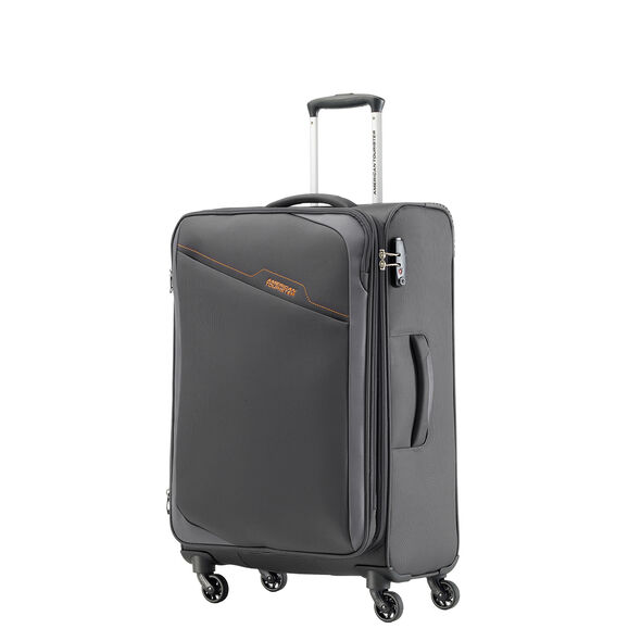 American Tourister Bayview Spinner Medium in the color After Dark.