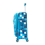 "American Tourister iLite Max 29"" Spinner in the color Light Blue Squares."