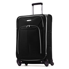 "Samsonite Ascella LTE 25"" Spinner in the color Black."