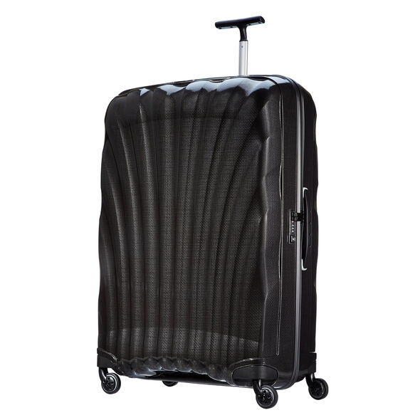 "Samsonite Black Label Cosmolite 32"" Spinner in the color Black."