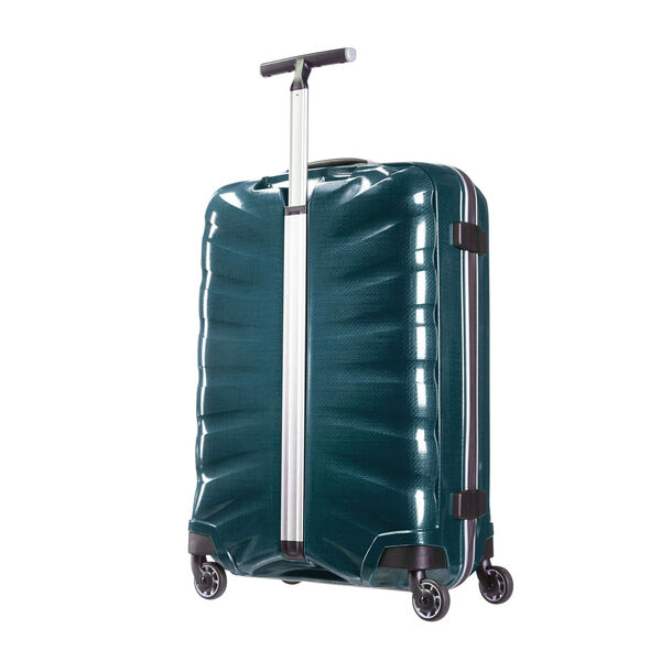 "Samsonite Black Label Firelite 28"" Spinner in the color Petrol Blue."